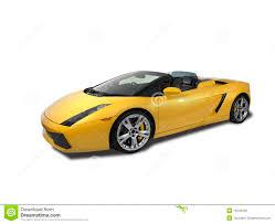 Lamborghini Gallardo White - lamborghini gallardo on white background stock photography image