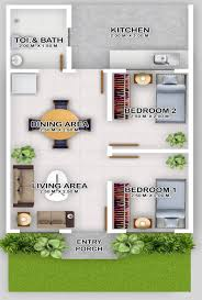 row house floor plan villa angeles subdivision row house