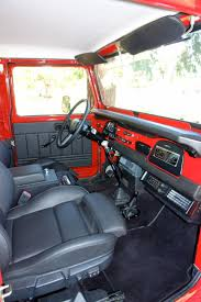 jeep africa interior toyota 4x4 land cruiser orange interior i like lets get a