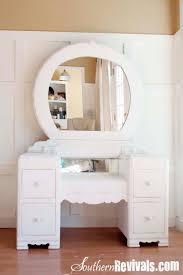 Vanities And Mirrors A 1940s Vanity Dresser U0026 Mirror Revival Southern Revivals