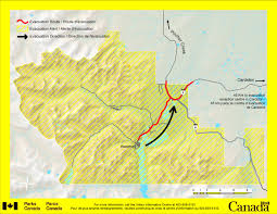 Wildfire Parks Canada government calls for u0027voluntary evacuation u0027 of waterton lakes