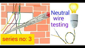 how to test neutral wire in hindi hindi urdu youtube seo electro
