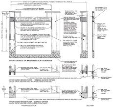 Residential Steel Beam Span Table by Chapter 6 Wall Construction Irc 2015 Upcodes