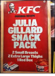 Memes Kfc - kfc original recipe julia gillard snack pack small breasts 2extra
