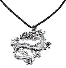 dragon necklace pendant images Bijoux de ja bdj stainless steel chinese dragon pendant p 39 leather jpg