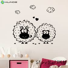 aliexpress com buy sheep in the field kids wall decal sticker