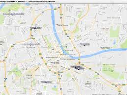 Map Of Nashville Tn How Public Housing Will Ease Nashville U0027s Housing Crunch