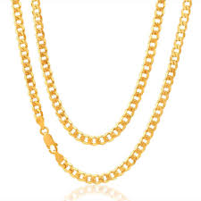 mens gold curb necklace images Mens 9ct yellow gold curb chain 20 inch 18 grams newburysonline jpg