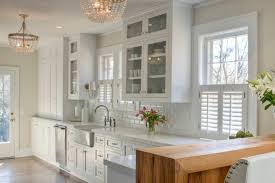 Kitchen Window Shutters Interior Shaker Kitchen Cabinets Transitional Kitchen Allison