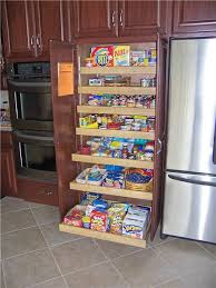 double ovens and pull out pantry cabinet we tried this at home