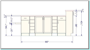 typical kitchen island dimensions standard kitchen island height for attractive sizes also layout