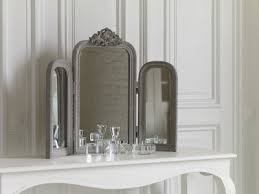 dressing table mirror audrey french style mirror with crest