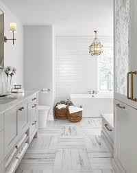 bathroom with subway tile bathroom with bench and crosshatch tiles u2014 by square footage inc