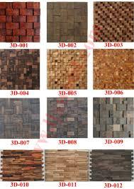 Interior Wall Materials Timber Wall Panel Wood Mosaic Interior Wall Decoration Material