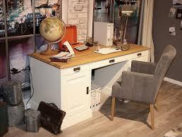Schreibtisch Kiefer Massiv Schreibtisch 162x78x70cm 1 Tür 6 Schubladen Kiefer Massiv