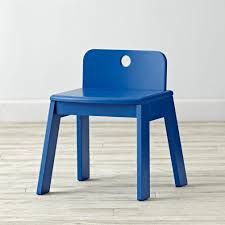 mojo white kids chair the land of nod