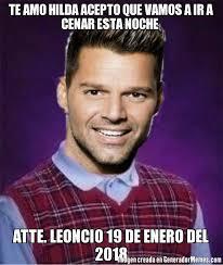 Ricky Martin Meme - memes de bad luck ricky martin galeria 87 imagenes graciosas