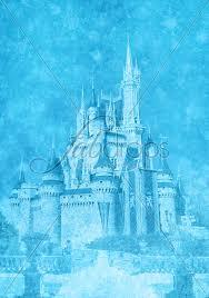 Castle Backdrop Vinyl Frozen Castle Party Photography Backdrop