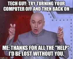 Tech Meme - dr evil laser meme imgflip
