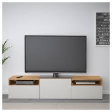 Tv Bench Oak Bestå Tv Bench Oak Effect Lappviken Light Grey 180x40x38 Cm Ikea