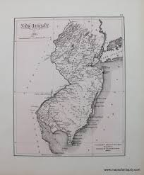 Map Of Essex County Nj New Jersey In 1812 Sold Antique Maps And Charts U2013 Original