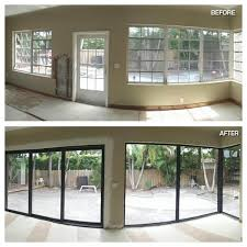 impact glass entry doors before and after photos hurricane resistant patio doors impact