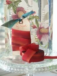hanah silk ribbon hydrangea dyed silk ribbon by hanah silk 1 inch wide