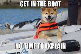 No Time To Explain Meme - get in the boat no time to explain memes and comics