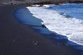 beaches with black sand punalu u0027u black sand beach na u0027alehu hawaii life as we explore