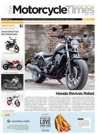 the motorcycle times december 2016 by the motorcycle times issuu