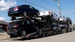toyota car auto transport carrier sped up unload unload takes 6 min