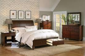 aspen cambridge bedroom set cambridge 5 piece sleigh storage bedroom set in cherry