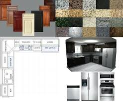 Pro Kitchen Design Cheap Complete Kitchen Cabinets Gray Cupboards White Oven