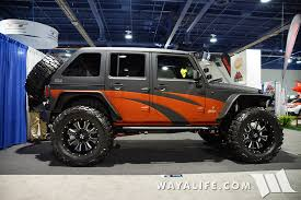sema jeep yj 2015 sema 4x4 works jeep jk wrangler unlimited jeep hair dont care