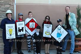 mustache halloween costume ideas coolest homemade monopoly costumes