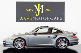 2009 porsche 911 turbo coupe 1 owner for sale