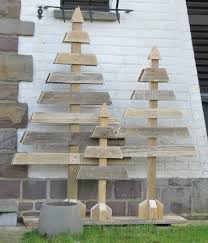 cute wooden christmas trees diy recycle inspiration diy