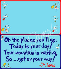 oh the places you ll go graduation party oh the places you ll go graduation printable treat bag toppers a