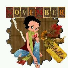 149 best betty boop fall thanksgiving and winter images on