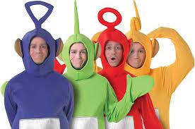 Teletubbie Halloween Costume Teletubbies Dressed Halloween