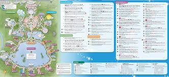 Disney World Maps Epcot Map Kennythepirate Com An Unofficial Disney World And