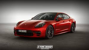 porsche panamera turbo 2017 wallpaper 2018 porsche panamera gts rendering is red signals things to come