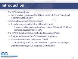 bank payment obligation business briefing icc banking commission