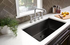 black faucet with stainless steel sink rohl adds black stainless steel to award winning luxury stainless