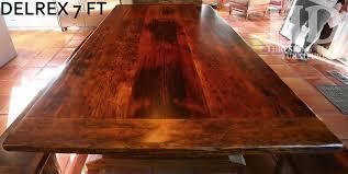 reclaimed hemlock barnwood table and benches in waterloo ontario