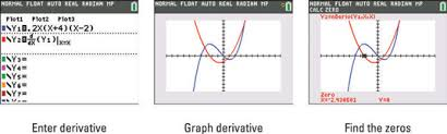 graph the derivative of a function on the ti 84 plus dummies