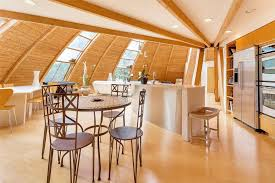 dome home interior design home designs clean wood design flying saucer shaped house takes