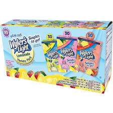 wyler s light singles to go nutritional information wyler s light single to go lemonade drink mix variety 1 38 oz 90 ct