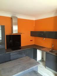 peinture orange cuisine peinture cuisine orange inspirant peinture cuisine rénovation