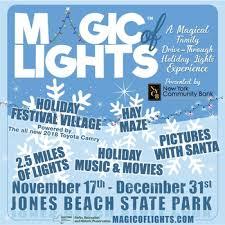 jones beach christmas lights 2017 this holiday head to the magic of lights at jones beach macaroni kid